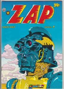 Zap #7 (Jan-74) NM Super-High-Grade Fat Freddy and his cat, Checkred Demon, M...