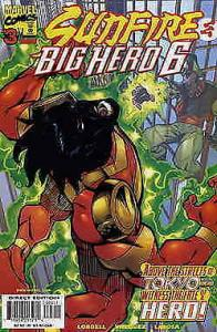 Sunfire And Big Hero Six #3 VF/NM; Marvel   save on shipping - details inside