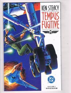 Tempus Fugitive #1 NM TPB DC Comics Comic Book Ken Steacy 1990 DE47 AD33