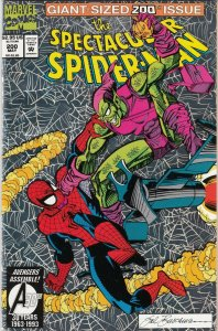 SPECTACULAR SPIDERMAN ANNUAL#9  CLOAK AND DAGGER APP.  VF/FN    MARVEL COMICS
