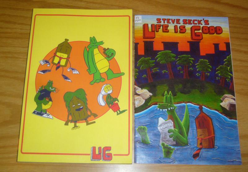 Steve Seck's Life Is Good TPB 1 VF/NM stuff that happens + original #1 (3rd)