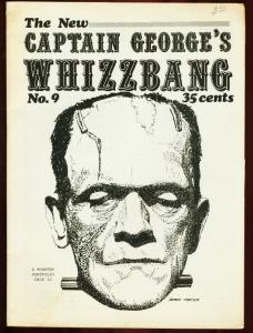CAPTAIN GEORGES WHIZBANG #9-HOPALONG CASSIDY VG/FN