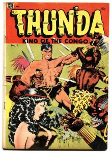 Thunda #1 Thun'da 1952 M.E. Frank Frazetta art Good Girl Art