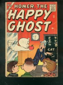 HOMER, THE HAPPY GHOST #12 1957-MATH CLASSROOM COVER G