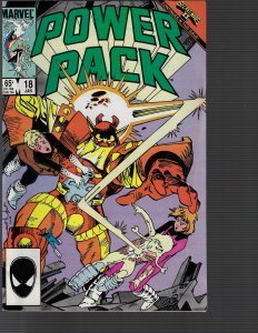Power Pack #18 (Marvel, 1986)