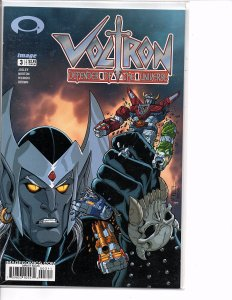 Image Comics VOLTRON: DEFENDER OF THE UNIVERSE #3