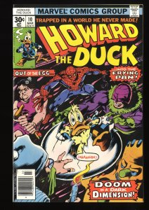 Howard the Duck #10 NM+ 9.6 Spider-Man!