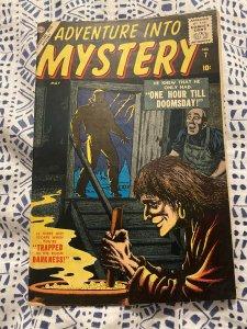 ADVENTURE INTO MYSTERY #7 ATLAS 1957 NICE POST CODE,EVERETT COV