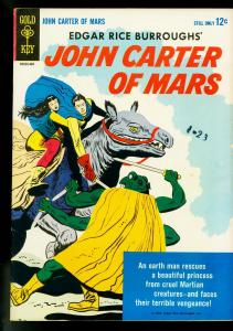 John Carter of Mars #1 1964- Gold Key- Edgar Rice Burroughs- FN