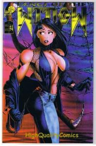 FANGS of the WIDOW #4, NM-, London Night, Mike Wolfer, 1995,more indies in store