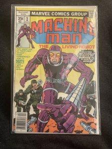 Machine Man #1 (1978)