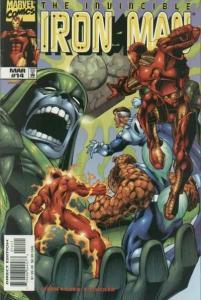 Iron Man (1998 series) #14, NM + (Stock photo)