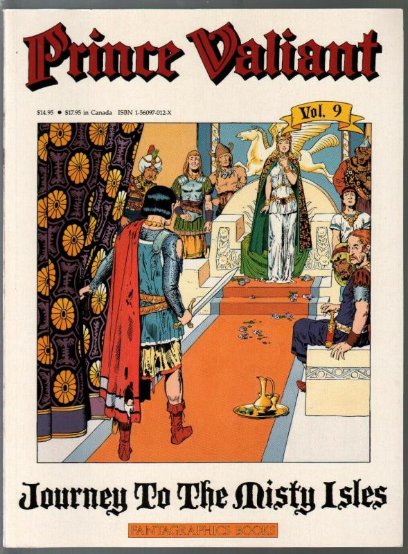 Prince Valiant #9 1990-Fantagraphics-color reprint-Hal Foster-Misty Isles-VF