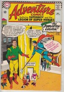 Adventure Comics #351 (Dec-66) FN/VF Mid-High-Grade Legion of Super-Heroes, S...