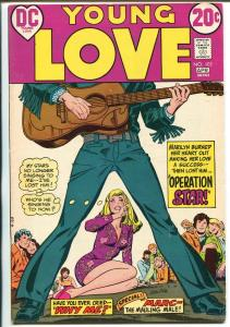 Young Love #103 1973-DC-Rock 'n' Roll issue-guitar cover-spicy art-FN