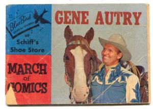 March of Comics #135 1955-Gene Autry- Promo Comic G