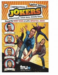 Impractical Jokers #1 VF/NM limited edition - Joe, Murr, Sal, Quinn TruTV - DC