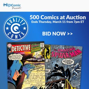 Quality Comix Auction Event #38