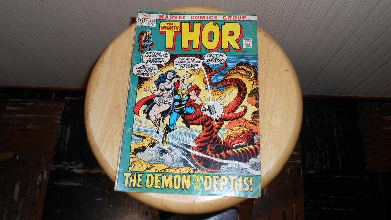 THE MIGHTY THOR # 204 (OCT. 1972)