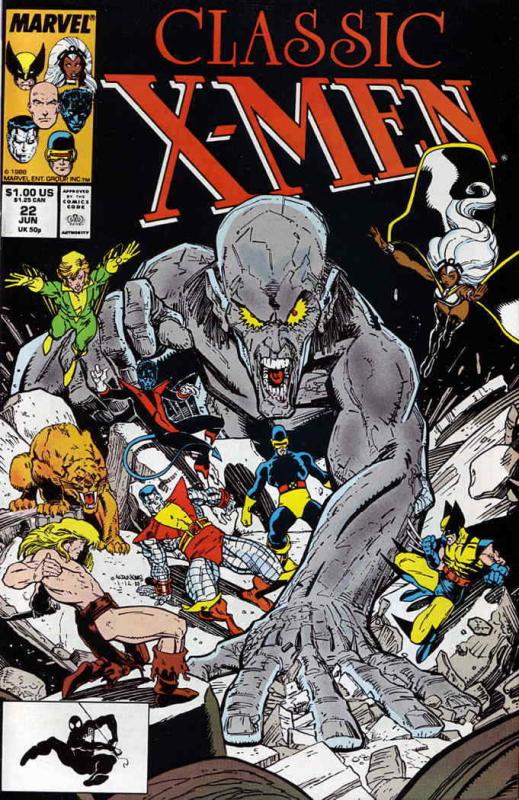 Classic X-Men #22 FN; Marvel | save on shipping - details inside