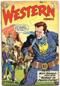 Western Comics #78 1959- Matt Savage- Pow Wow Smith G-