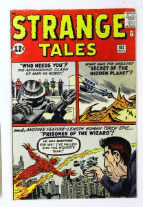 Strange Tales (1951 series) #102, VG+ (Actual scan)