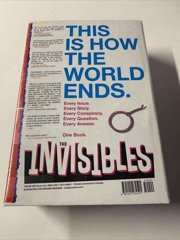 The Invisibles Omnibus Mint Seald Dc Hc Tpb Grant Morrison