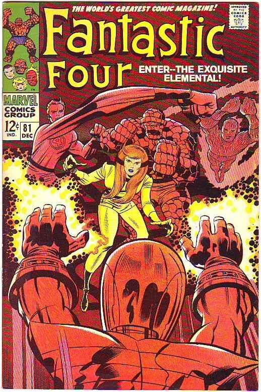 Fantastic Four #81 (Dec-67) VF- High-Grade Fantastic Four, Mr. Fantastic (Ree...
