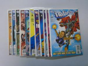 Infinity Inc run #1 to #12 no #11 - 2nd Second Series - see pics - 8.0 - 2007