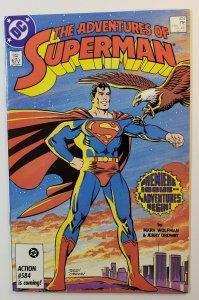The Adventures Of Superman #424 New Adventures Start DC Comics 1986 NM