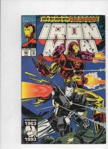 IRON MAN #291, VF/NM Tony Stark, War Machine, 1968 1993, more IM in store,Marvel