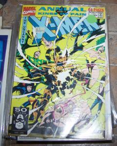 UNCANNY X-MEN ANNUAL # 15 -1991 marvel kings of pain pt 3+x factor new mutants