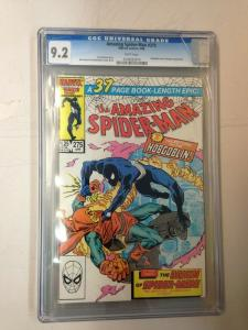 Amazing Spider-Man 275 CGC 9.2 Cracked Case Hobgoblin App.