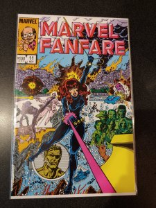 ​Marvel Fanfare #11 (1983 Marvel) *1st App of Iron Maiden  HIGH GRADE VF/NM