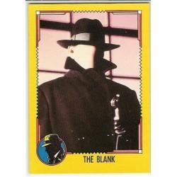1990 Topps DICK TRACY-THE BLANK #18