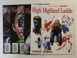 HIGHLAND LADDIE (FROM THE PAGES OF THE BOYS) #1-6 VF/NM DYNAMITE COMICS 2010