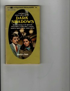 3 Books Dark Shadows Secret of Barnabas Collins Quentin and Body Snatchers JK25