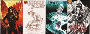 JENNIFER BLOOD (2011 DYNAMITE) 1A-1D  Garth Ennis