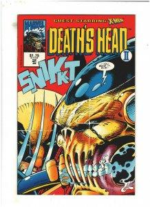 Death's Head II #2 NM- 9.2 Volume 2 Marvel UK Comics 1992 X-Men app.