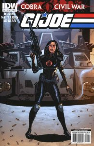 G.I. Joe: Cobra Civil War #5B FN; IDW | save on shipping - details inside