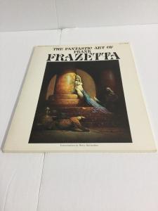 Fantastic Art Of Frank Frazetta Nm Near Mint