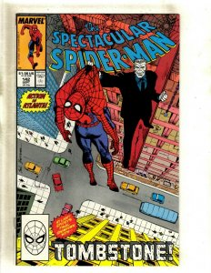 Spectacular Spider-Man # 142 NM Marvel Comic Book Tombstone Appearance HJ9
