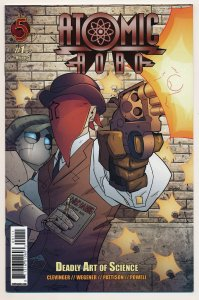 Atomic Robo Deadly Art of Science (2010) #1-5 VF/NM Complete series
