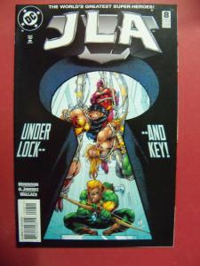 JUSTICE LEAGUE OF AMERICA   #8  VF/NM OR BETTER  DC COMICS