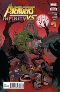 Avengers vs Infinity (2016 series) #1, NM- (Stock photo)