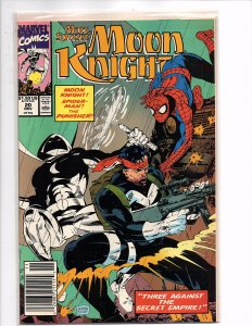 Marvel Comics (1989) Marc Spector: Moon Knight #20 Punisher Spider-man