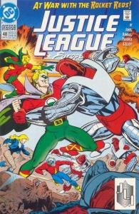 Justice League Europe #48, NM + (Stock photo)