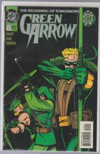 GREEN LANTERN #0 - THE BEGINNING OF TOMORROW - DC COMIC
