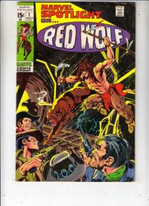 Marvel Spotlight on Red Wolf #1 (Nov-71) FN/VF Mid-High-Grade Red Wolf, Lobo