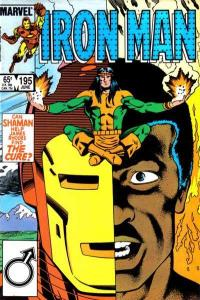 Iron Man (1968 series) #195, VF+ (Stock photo)